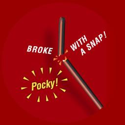 「ポッキー(Pocky)」這個名稱的由來是因為擬聲語